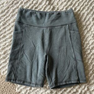 AEO Terry Cloth Bike Short with pockets